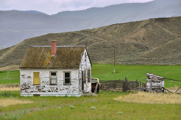 Ashcroft, abandoned farm house