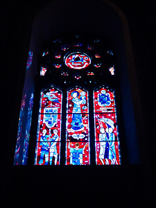 Stained Glass Window in St. Joseph's Oratory