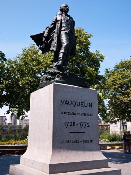 Statue of Jean Vauquelin