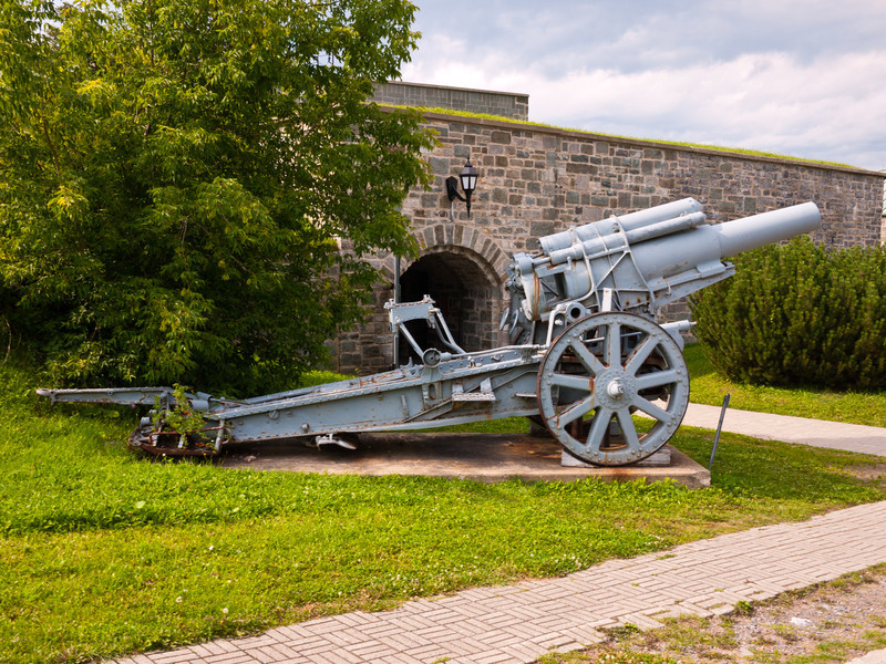 Captured World War I German Cannon