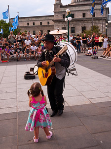 Little Girl and The One Man Band
