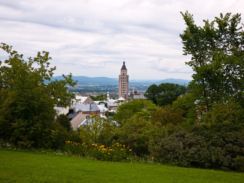 View from the Edge of the Citadelle de Québec