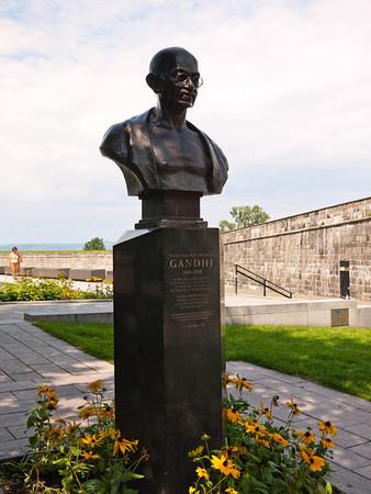 Bust of Gandhi