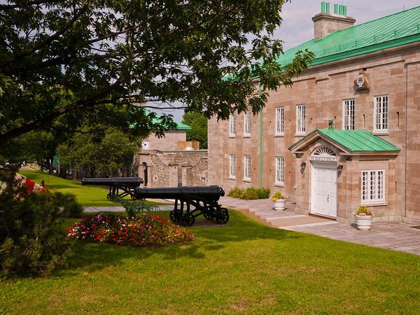 HQ of the 22nd Regiment in the Citadelle de Québec