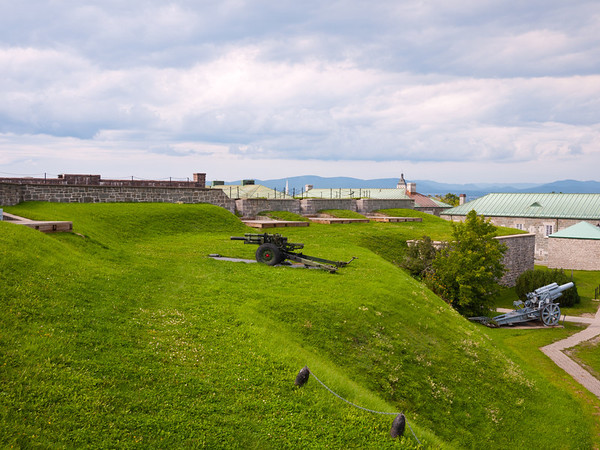 Inside the Citadelle de Québec