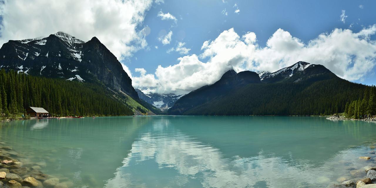 Victoria Glacier, Lake Louise, Banff NP, Canada