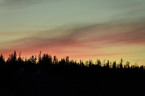 Evening sky, Valemount, BC, Canada