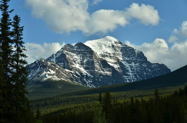 Mt. Temple, Banff NP, Canada;