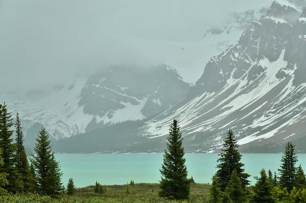 Bow Lake, Banff NP, Canada;