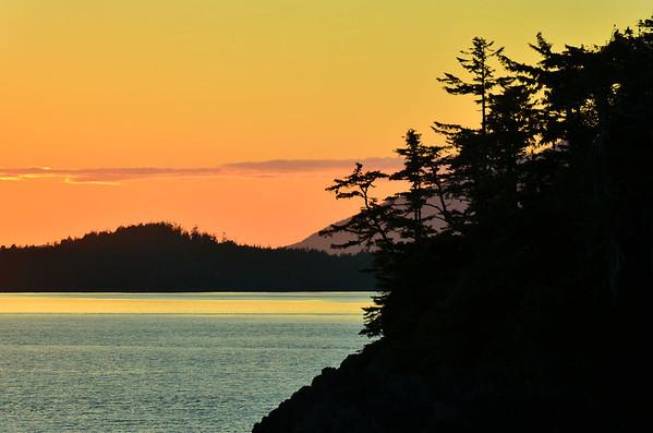 Sunset, Tofino, Vancouver Island;