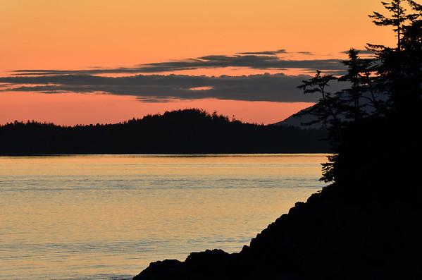 Sunset, Tofino, Vancouver Island, Canada