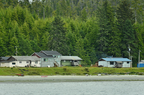 First Nations Village, Tofino, Vancouver Island