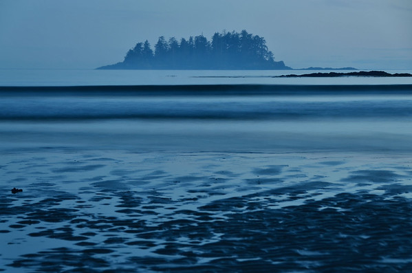 Evening at Mackenzie Beach, Tofino, Vancouver Island, Canada