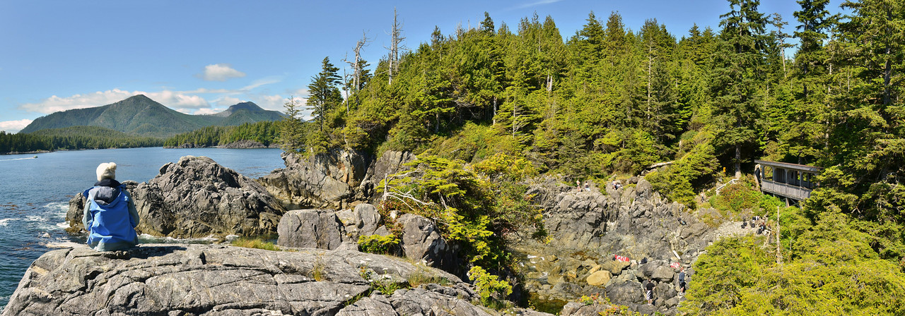 Hot springs cove, Clayoquot Sound, Vancouver Island;