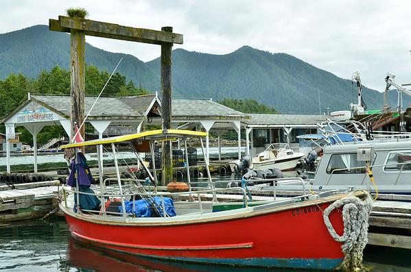 Tofino harbour, Vancouver Island