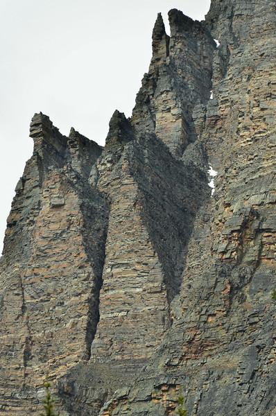 Wiwaxy Peaks, 2703m, Lake O'Hara, Yoho NP, British Columbia, Canada