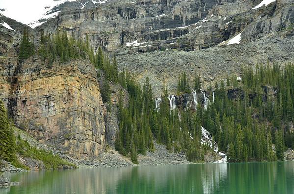Seven Veils Falls, Lake O'Hara, Yoho NP, British Columbia, Canada
