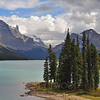 Spirit Island and Maligne Lake