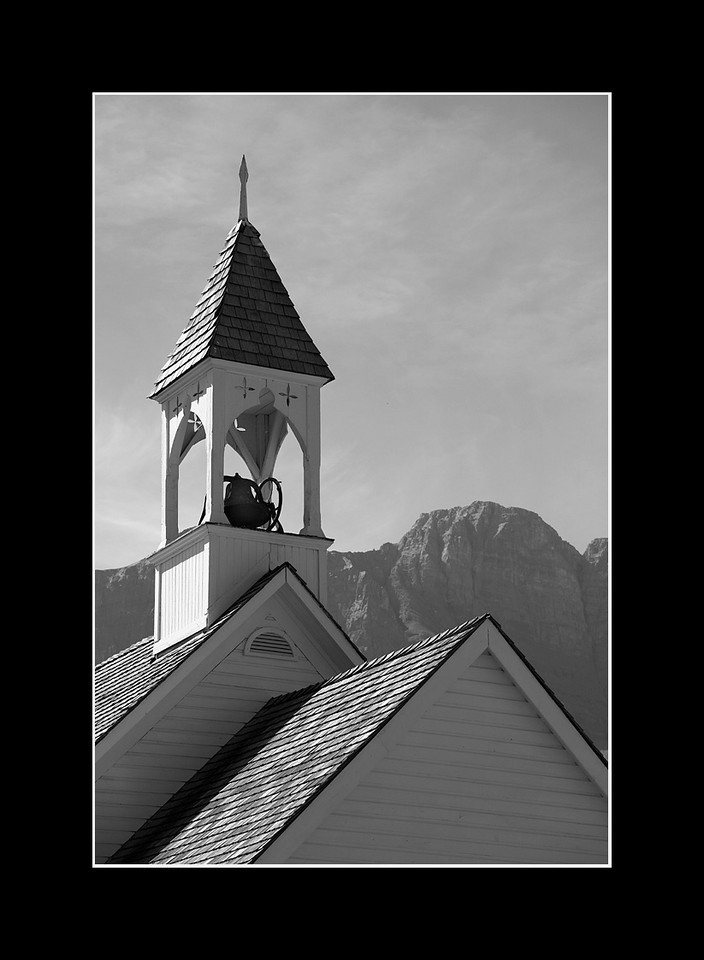 Old Church, Canmore, Alberta
