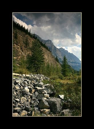 View from the Icefields Parkway