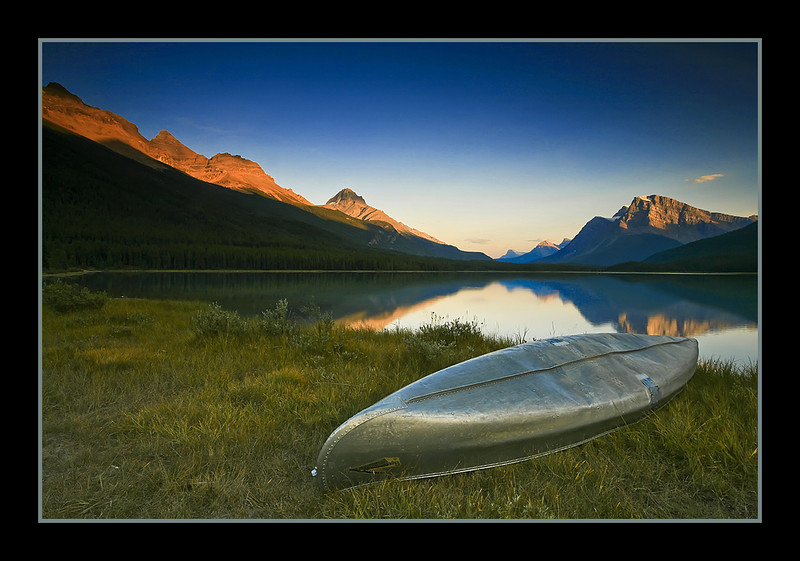 Upper Waterfowl Lake, Banff, Alberta, Canada