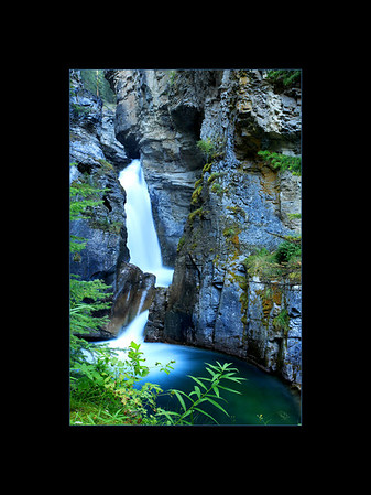 Lower Falls, Johnston Canyon, Banff National Park
