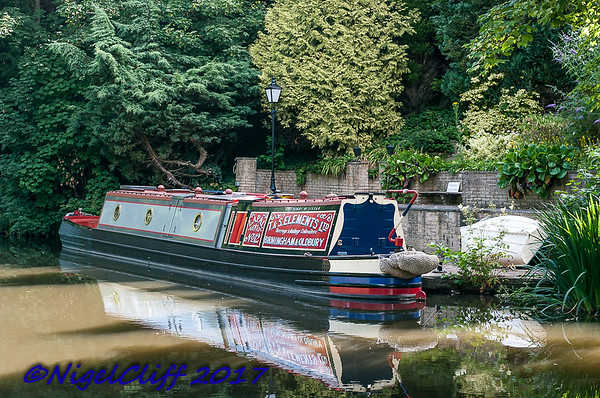 Staffs and Worcestershire Canal at Wolverley  08.07.2017