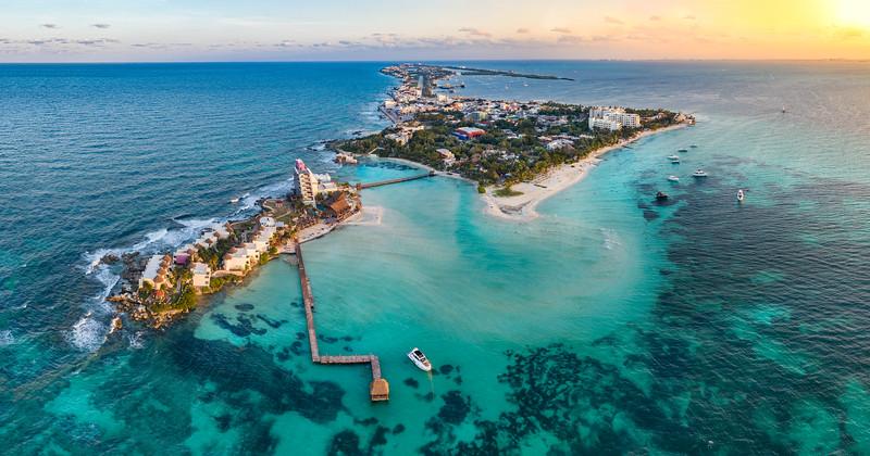 isla mujeres island near Cancun Mexico
