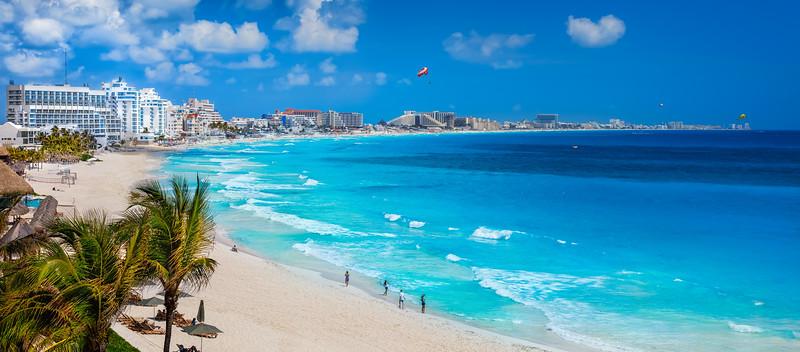 Cancun coast