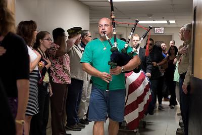 Honor Guard procession