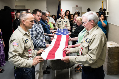 Folding of the American Flag