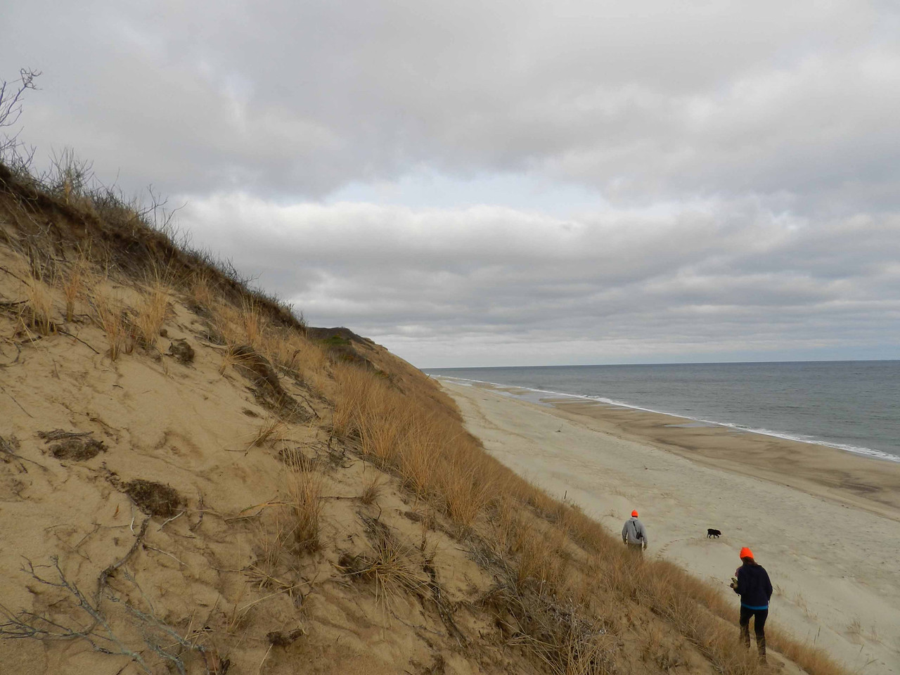 Atlantic dunescape near Nauset Hollow<br /> <br /> 'I drew solitude over me, on the long shore...' ~ Robinson Jeffers