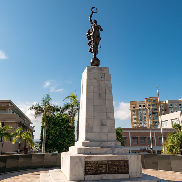 World War I memorial for those from Puerto Rico who died in combat - 1927