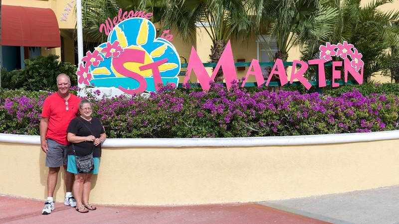Bob & Joy in St. Maarten