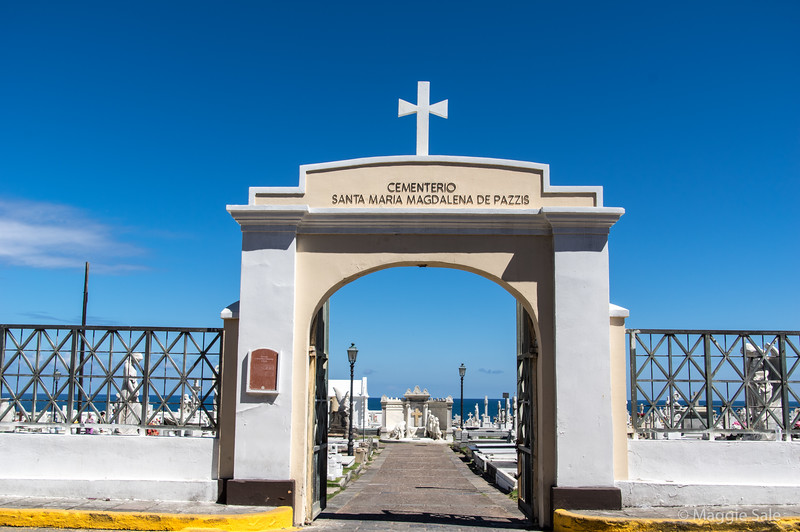 The cemetery has some beautiful statues but not quite the quality or quantity of the Colon cemetery in Havana.