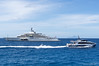 The world's largest and most expensive private yacht owned by Russian oligarch Roman Abramovich (owner of Chelsea football club among many other things!) was beside us at St. Bart's! Apparently he owns a villa on the island as well!