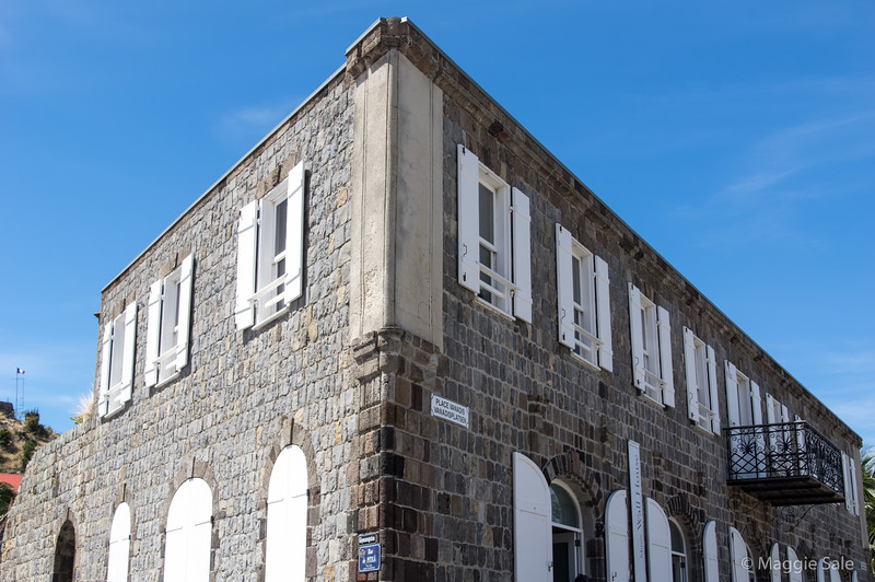 The museum in the port area of Gustavia where we saw a very good photographic exhibition!