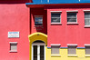 Colourful new fire station in Montserrat.