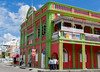 Restored building in Castries, St. Lucia