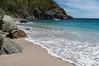 Shell beach on the edge of Gustavia, St. Barts.
