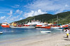 The commercial side of the port in Bequia