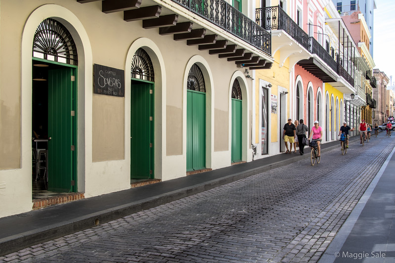 Old San Juan is full of Spanish colonial buildings, most of which have been beautifully restored.