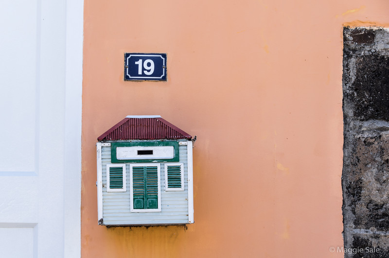 Letter box in Gustavia