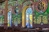 Interior of the cathedral in Castries, St. Lucia.