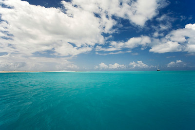 Sea and Sky, Barbuda, Leeward Islands, Eastern Caribbean