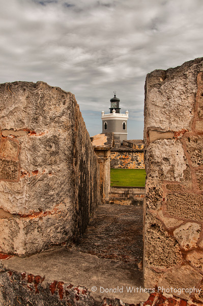 Fort San Felipe Lighthouse | San Juan, Puerto Rico