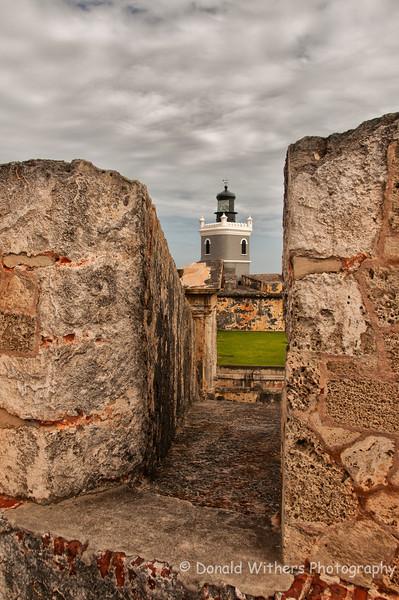 Fort San Felipe Lighthouse   San Juan, Puerto Rico