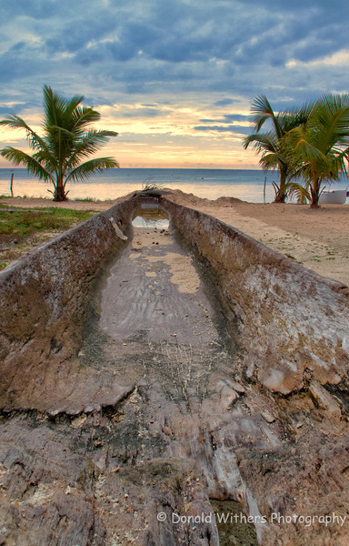 Hollowed Tree Canoe | Casa de Mayo, Mexico