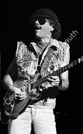 01-Carlos Santana-Great Woods-6-25-88