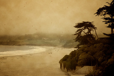 Another view of Pebble Beach in Carmel, California - lovely!